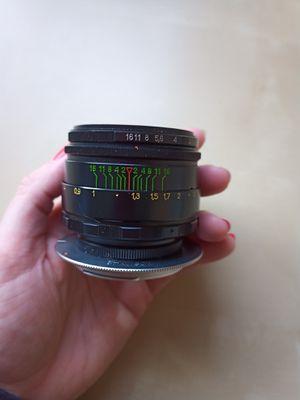 Vintage lens Helios 44-2 2/58 for Sale in Playa del Rey, CA