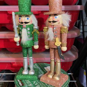 Two Glittery nutcrackers for Sale in La Mirada, CA