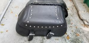 Leather motorcycle saddlebags for Sale in Miami, FL