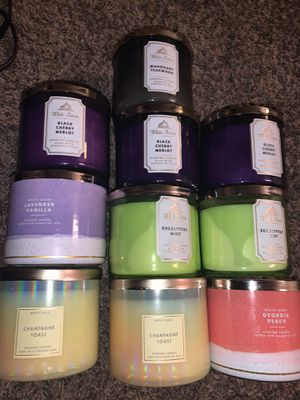 Bath & body candles for Sale in Fresno, CA