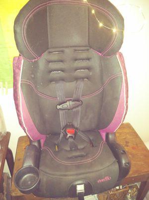 Evenflo 3 n 1 girl car seat for Sale in Terre Haute, IN