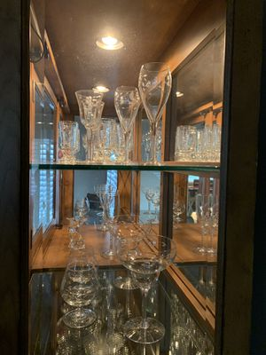 Princess house crystal glassware for Sale in San Dimas, CA