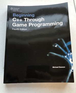 C++ through game programming for Sale in St. Louis, MO