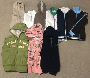 9 women's zip up hoodies - all size mediums for Sale in Lewisville, TX
