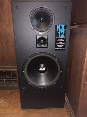 BOSE, RECEIVER, AND KX 12 speakers for Sale in McKnight, PA