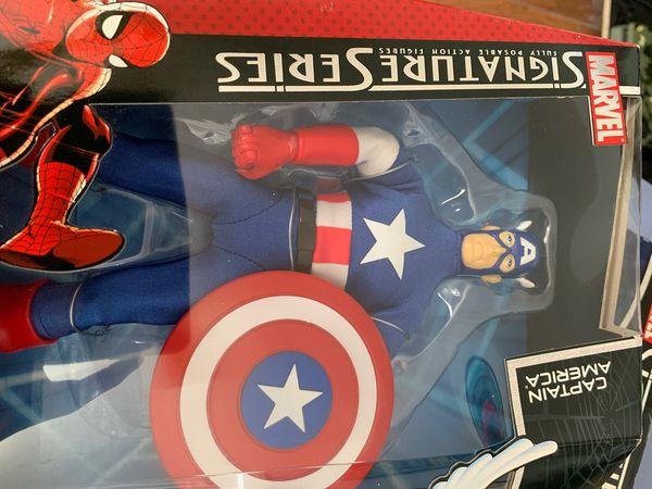 Captain America Spider-Man Signature Series