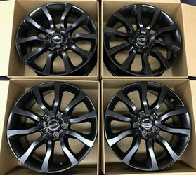 "20"" Range Rover Satin Black Wheel Rims Rines for Sale in Huntington Beach,  CA"