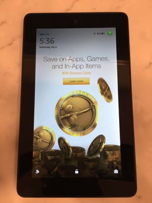 """2015 Amazon Kindle Fire 7"""" 8GB w/ Case for Sale in Gaithersburg, MD"""
