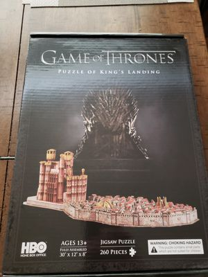 GoT kings landing 4D puzzle for Sale in Hayward, CA