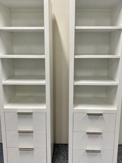 "Restoration hardware 84"" White Cabinets for Sale in Woodinville,  WA"