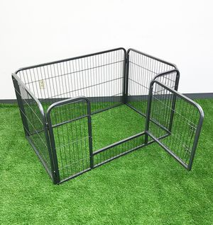 "$75 NEW Heavy Duty 49""x32""x28"" Pet Playpen Dog Crate Kennel Exercise Cage Fence, 4-Panels for Sale in Pico Rivera, CA"