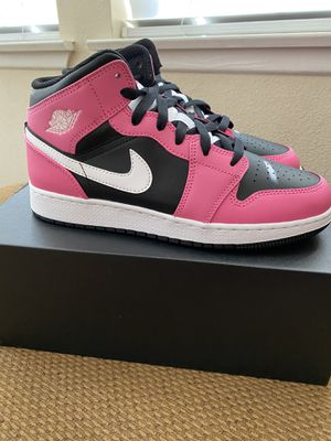 "Brand New Air Jordan 1 Mid ""Pinksicle"" sz 7Y for Sale in Irvine, CA"