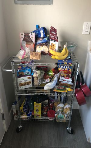 Rolling kitchen cart or island for Sale in Denver, CO