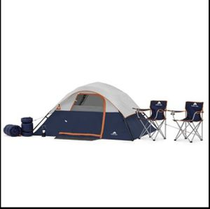 Ozark Trail 6 Piece Camping Combo 4 Person Outdoors Hunting Hiking Sleeping Bag for Sale in Lewisville, TX