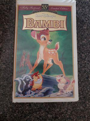 Bambi vhs video for Sale in Phoenix, AZ