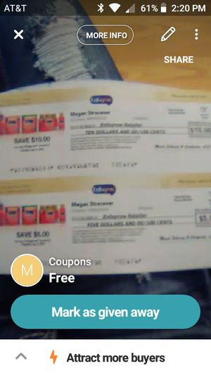 Coupons for Sale in Pitkin, LA