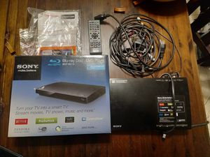 Sony blue ray/ dvd player, smart tv box for Sale in La Mirada, CA