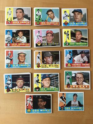 * (73) 1960 TOPPS BASEBALL CARDS * EXCELLENT CONDITION * for Sale in Lafayette, CA