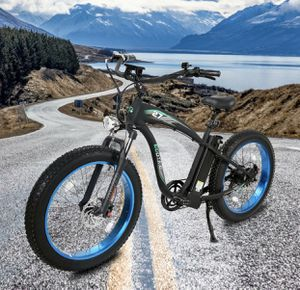 "26"" 1000W 48V Mountain Electric Bike Bicycle EBike E-Bike Removable battery for Sale in Brooklyn, NY"