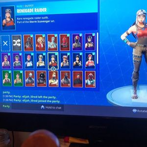 Fortnite account renigade raider for Sale in New Salem, ND