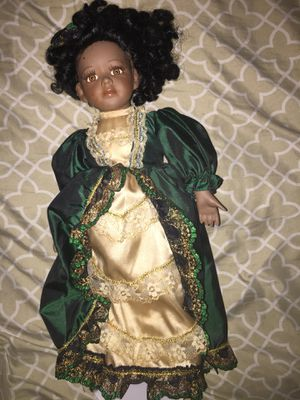 African American Glass doll classic collectible for Sale in Reynoldsburg, OH