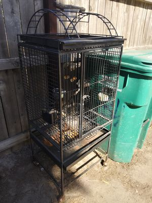 Bird cage 60$ dually 60$ bedframe 70$ tires vw jetta 100$ for Sale in Stockton, CA