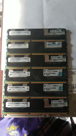 24GB (6x 4GB) DDR4 PCE-10600R ECC, HP Branded for Sale in Oskaloosa, IA