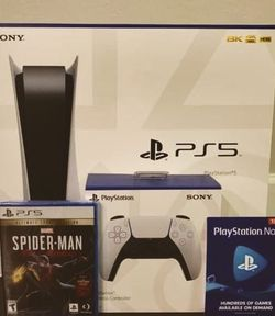 PlayStation5 Brand New Disk Version for Sale in Waco,  TX
