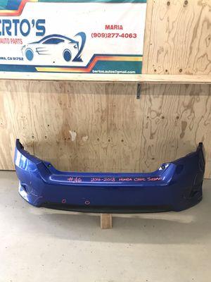 2016-2018 Honda Civic sedan rear bumper for Sale in Jurupa Valley, CA