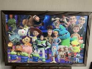 Toy Story frame 3ft by 2ft for Sale in Los Angeles, CA