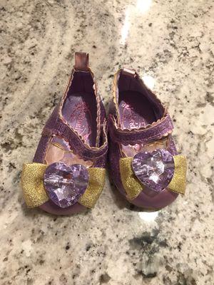 Disney Rapunzel Crib Shoes- Size 0-6 months for Sale in Tempe, AZ