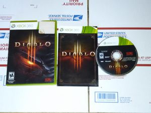 Diablo III xbox 360 for Sale in Chicago, IL
