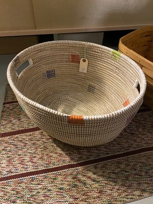 Handmade colorful storage basket container for Sale in Portland, OR