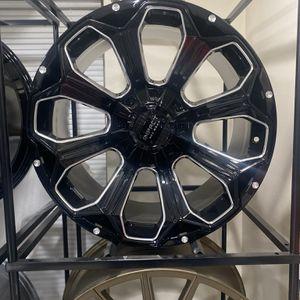 22 Inch Jeep Wrangler Wheels & Dodge Ram for Sale in Melrose Park, IL