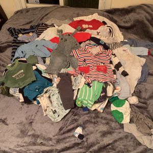 $500 Worth Of Baby Clothes Sizes 3-12Months for Sale in Los Angeles, CA