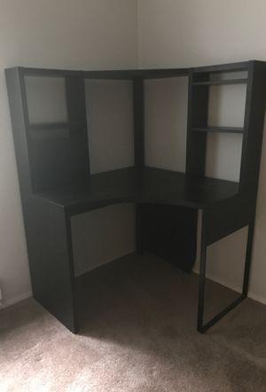Black IKEA corner desk for Sale in Bremerton, WA