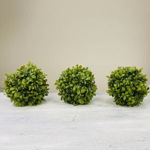 Set of 3 artificial plant ball shape for Sale in San Leon, TX