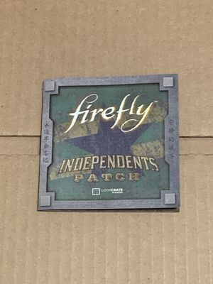 FIREFLY INDEPENDENCE PATCH | Loot Crate December 2016 Revolution NEW for Sale in Los Angeles, CA