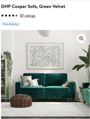 3 seater sofa velvet for Sale in Inman, SC