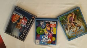 3 Disney kids DVDs Movies. for Sale in Hesperia, CA