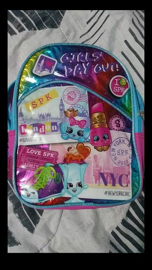 small children shopkins backpack for Sale in Santa Fe Springs, CA