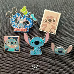 Disney Pin Lot Of 5 Stitch for Sale in El Monte, CA