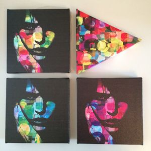 Printed canvas Series for Sale in Miami, FL