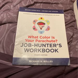 What Color Is Your Parachute Workbook for Sale in Delray Beach, FL