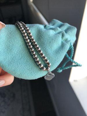 Tiffany's Sterling Silver Bead Bracelet for Sale in Tempe, AZ
