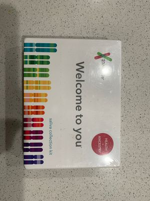 23andMe DNA test kit New for Sale in Lake Forest, CA