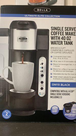 Bella Single Serve Coffee Maker for Sale in Bakersfield, CA