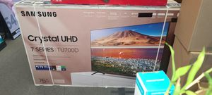 """75"""" Samsung 4k Crystal UltraHD Smart HDR LED Tv for Sale in Escondido, CA"""