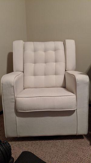 Swivel Rocker Chair - Cream for Sale in Spartanburg, SC