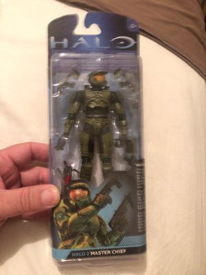 Halo action figure Halo 2 master chief for Sale in Las Vegas, NV